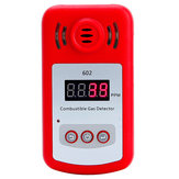 KXL-602 Portable Mini Combustible Gas Detector Analyzer Gas Leak Tester with Sound and Light Alarm