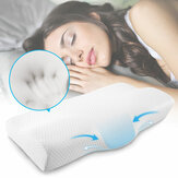 Memory Foam Orthopedic Pillow for Neck and Shoulder Pain Butterfly Shaped Pillow with Extra Foam Layer
