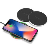 Bakeey Aluminium QI Wireless Fast Charger ricarica Dock Mat Mat per iPhone XS XR X