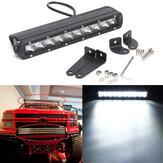 12Inch 50W Single Row LED Barra di lavoro Spot Light 4WD Off Road 4x4 per camion SUV
