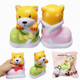 SquishyShop Puppy In Boots Jumbo Dog Shoes Squishy Slow Rising With Packaging Collection Gift Decor