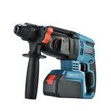 3 EM 1 6200 r / min Poderosa elétrica sem escova SDS Hammer Broca Broca Ferramenta de torneamento sem Bateria