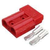 إكسيلواي 50A 8AWG البطارية موصل سريع التوصيل توصيل طرفي افصل ونش مقطورة أحمر