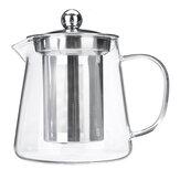 Кувшин стеклянного чайника термостойкий ясный с горшком чая 450/550 / 750МЛ кофе Инфузер