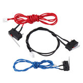 3Pcs UM2 Standard Version Elevated Edition 3 Color Limit Switch Endstop Switch Kit for 3D Printer