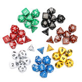 7 Set 49Pcs Polyhedral TRPG Game Dungeons And Dragons Dice DnD RPG With Bag