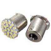1156 ba15s 22smd auto LED di backup lampadine coda inversa brillante bianco