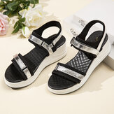 Women Adjustable Strap Sports Comfy Casual Wedge Sandals