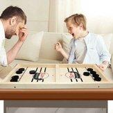 Xadrez Bouncing Xadrez Bouncing Pai-Filho Xadrez Interativo Bumping Jogo de Tabuleiro de Xadrez Brinquedos de Hóquei de Mesa