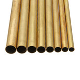 8-15mm Diameter Brass Round Bar Rod Circular Tube 30cm