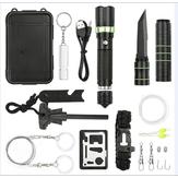 Outdoor Sports SOS Emergency Survival Strumenti Kit caccia tattico con auto-aiuto Scatola