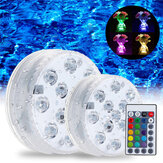 Swimming Pool Light LED Unterwasser-RGB-Fernbedienung Multi Color Brunnenlicht