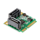 SSU MINI PCI-E to SATA3 Mini Expansion Card 6Gbps SSD Hard Disk Interface for Windows XP Vista 7 8