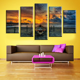 5 Cascade The Sea Sunset Leinwand Wand Malerei Bild Home Decoration Ohne Rahmen Inklusive Insta
