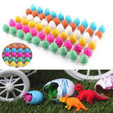 60PCS Magic Water Growing Hatching Dinosaur Eggs Kids Toys Natal Crianças Presente