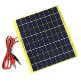 18V 6W Solar Panel Battery Charger for Solar Water Pump & Emergency Light & Fan
