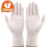 IPRee® 100 * stuks Wegwerp nitril BBQ-handschoenen Waterdichte veiligheidshandschoen Wegwerphandschoenen Beschermende handschoenen