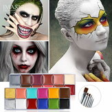 IMAGIC 12 Cores Flash Tatuagem Pintura Corporal no Rosto Óleo Pintura Art use in Halloween Party Fancy Dress Beauty Maquiagem Ferramenta