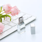 Z-SUIT ZSUSJ02 Crystal USB Flash Drive 16GB/32GB/64GB Pendrive High Speed External Storage Memory Disk U Disk