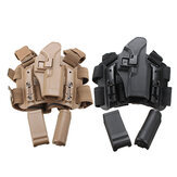 Adjustable 4-in-1 Tactical Holster Leg Belt Magazine Belt Mollle Military Storage Bag Hunting Fishing