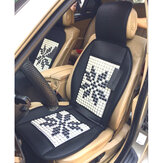 Universal 12V Therapy Massage Car Font Seat Cover Cushion Bead Summer Cooler