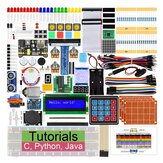 Aoqdqdqd® Ultimate Starter Kit for Raspberry Pi 4 B 3 B+ Learning Electronics and Programming