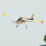 Dynam Smart Trainer V2 1500mm Wingspan EPO 3D Aerobatic RC Airplane Trainer PNP iniciante com sistema de energia atualizado