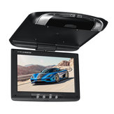 9 tommer Car Roof Mount Overhead Flip Down Monitor DVD CD Player Transmitter Spil