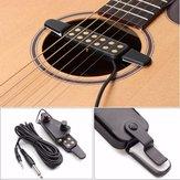 Акустическая гитара усилитель звука пикап 12 отверстий с регулятором громкости тона