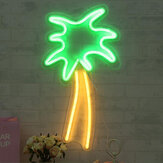 47cm Coconut Tree LED Neon Sign Light Bar Bedroom Wall for Room Home Party Gift Wedding Decoration