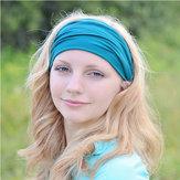 omens Cotton Good Elastic Wicking Yoga Headband