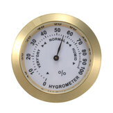 Analoges Hygrometer-Zigarren-Feuchtigkeits-Kalibrierungs-Messgerät mit Glaslinse für Humidore