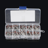 200Pcs 1N4728~1N4737 1W Axial Leads Through Hole Power Diode Assorted Assortment Box Kit Set