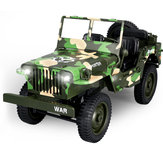Eachine EC01 1/10 2.4G 4WD Rc Car Jedi Transporter Camouflage Military Truck RTR Toys