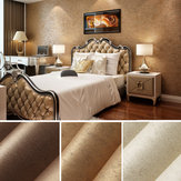 10m Wall Sticker Wave Stripe Non-Woven Crescent Flocking Wallpaper Hem Sovrum Vardagsrum Inredning