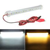 12V 20cm 15LED SMD 5630 LED Strip Licht Harde Tube Bar Cool White Warm Geel