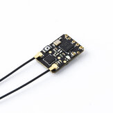 RadioMaster R81 2.4GHz 8CH Over 1KM SBUS Nano Receiver Compatible FrSky D8 Support Return RSSI for RC Drone