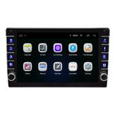 8 بوصة 9 بوصة 1Din لـ أندرويد 8.1 مشغل وسائط متعددة للسيارة قابل للتعديل شاشة رباعي النواة 1 + 16G WIFI GPS FM مضخم صوت