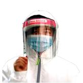 Protector facial transparente protector Mascara Plástico antivaho Protección facial a prueba de viento Mascara