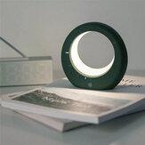 Mondförmige Tischlampe Mini LED Elektronischer digitaler Wecker Multifunktions-Nachtlicht für Geburtstagsgeschenke im Nachtzimmer