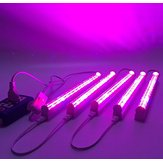 (5pcs/lot) LED Grow Light 660nm Red and 455nm Blue LED Lamp for Plants Input Voltage 85-265V