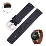 Bakeey 18/20/22/24mm Width Universal Casual First-Layer Genuine Leather Watch Band Strap Replacement for Samsung Galaxy Watch Gear S3