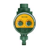 KCASA KC-JK666 Temporizador de Riego Automático de Jardín Vávula de Bola con inducción de Monitoreo de la Lluvia