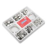 100 unids Dental herramientas Dental Matricial de Matrix contorneado Matrices de metal Kit completo No.1.398 con 2 anillos