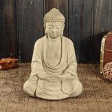 Goodeco meditando estátuas estatueta sentada para decoração de casa escultura de Buda ornamentos de resina poli