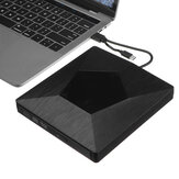 2 IN 1 USB 3.0 externe dvd-cd-drive Type-C Slanke draagbare externe dvd_cd rw-brander voor laptop, desktop