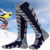 الرجال النساء الرياضة التزلج الجوارب الجوارب أنبوب العجل سماكة