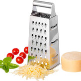 Kitchen Multifunctional  Vegetable Cutter Slicer Stainless Steel Grater 4-Sided Box Food Grater Vegetable Cheese Vegetable Tool
