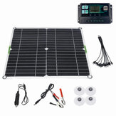 200W Solar Panel Kit 12V Battery Charger 10-50A Controller For Ship Motorcycles Boat
