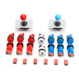 Joystick Push Button Başlat Düğmesi Microswitch DIY Kit Oyun Salonu İçin